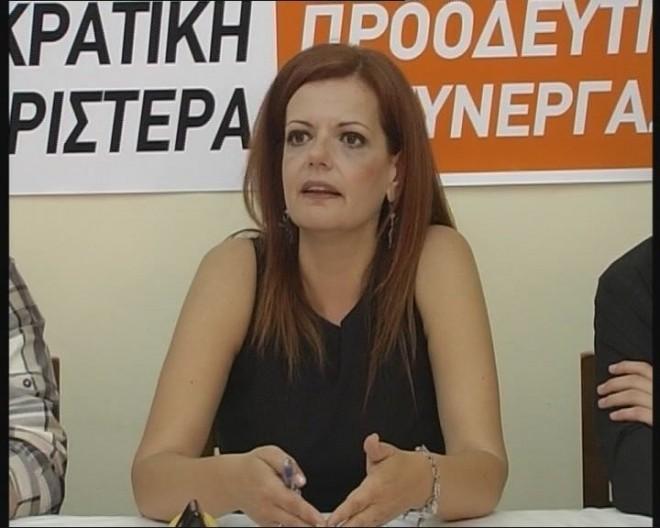 H τοποθέτηση της Μ. Γιαννακάκη στη Βουλή για την διεξαγωγή δημοψηφίσματος