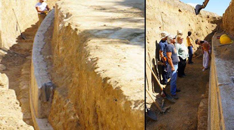 Σημαντικός αρχαιολογικός τάφος ανακαλύφθηκε στην Αρχαία Αμφίπολη