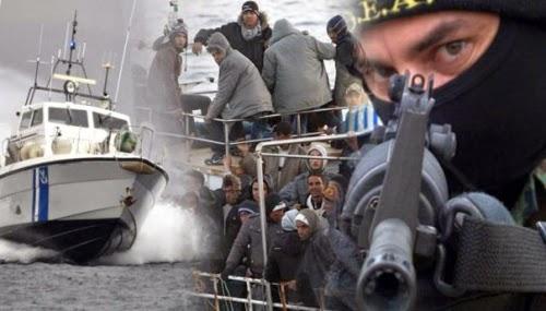 Αιματηρή καταδίωξη δουλεμπόρων από σκάφος του Λιμενικού