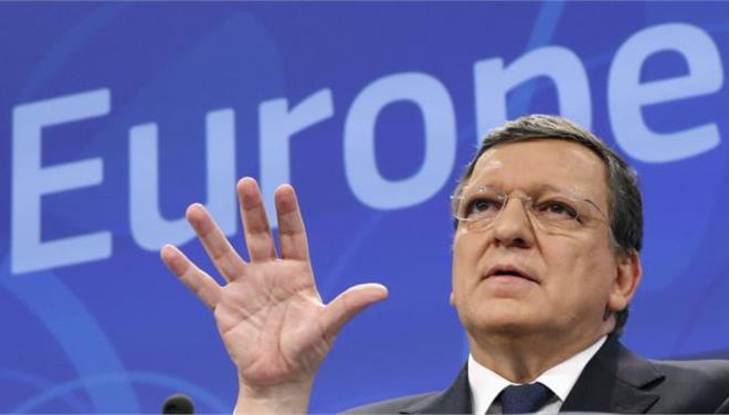 Μπαρόζο: «Η Ελλάδα δεν απειλεί το ευρώ»