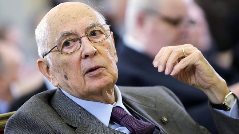 Ιταλία: Παραιτήθηκε ο πρόεδρος της Δημοκρατίας Τζόρτζιο Ναπολιτάνο