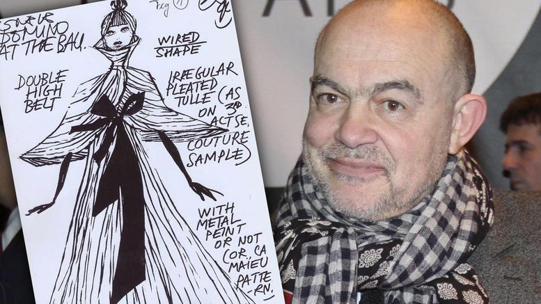 Τα εκπληκτικά σχέδια του διάσημου Κριστιάν Λακρουά για την Εθνική Λυρική Σκηνή