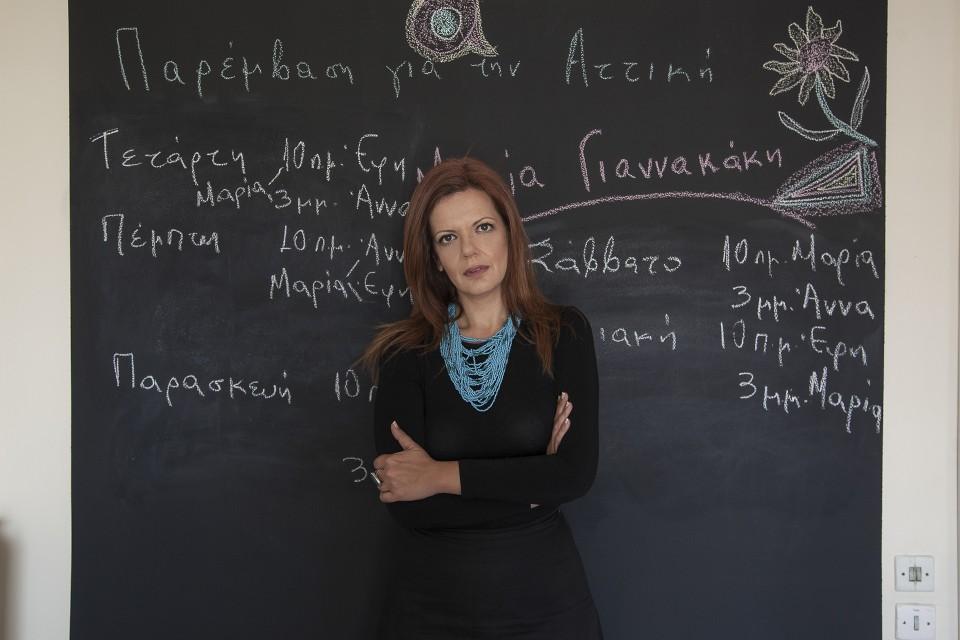 Μαρία Γιαννακάκη: «H ατζέντα μου είναι η Αριστερά του 21ου αιώνα» (Βίντεο)