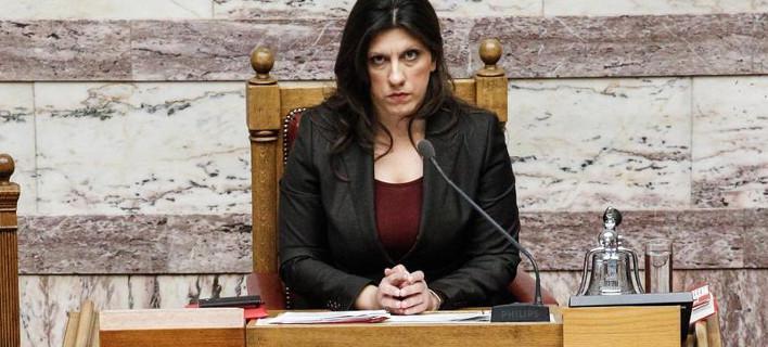 «Αποχή» ψήφισε η Ζωή Κωνσταντοπούλου σε νομοσχέδιο