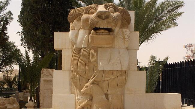 Βαρβαρότητα: Οι Τζιχαντιστές έκαναν κομμάτια τον ιστορικό Λέοντα της Παλμύρας