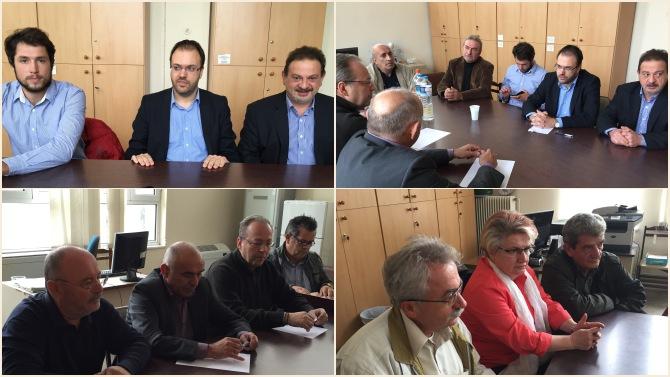 Επίσκεψη Θ. Θεοχαρόπουλου στην Τρίπολη: «Η χώρα χρειάζεται εθνικό σχέδιο παραγωγικής ανασυγκρότησης»
