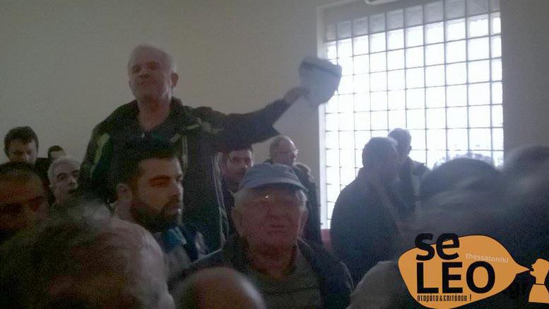 Μέλη του ΣΥΡΙΖΑ ήρθαν στα χέρια με αγρότες