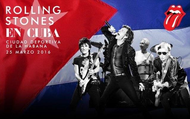 Rolling Stones: Ιστορική συναυλία στην Κούβα
