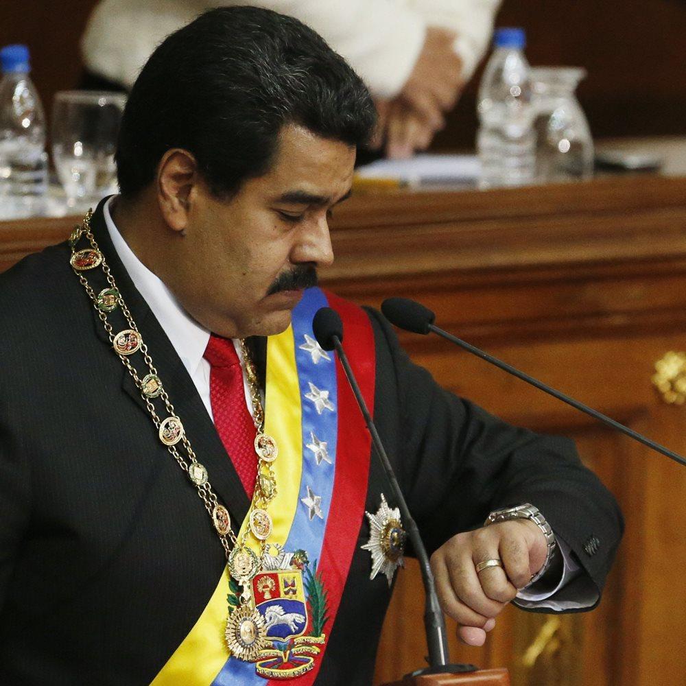 Ο Μαδούρο άλλαξε… την ώρα στη Βενεζουέλα