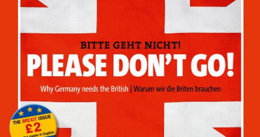 Spiegel σε Βρετανούς: «Please don't go»