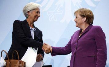 Λαγκάρντ και Μέρκελ συμφώνησαν για τη συμμετοχή του ΔΝΤ, γράφει η Die Welt