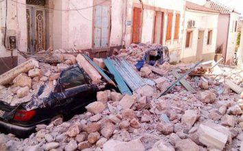 Σεισμός 6,1 Ρίχτερ μεταξύ Λέσβου και Χίου- Καταρρεύσεις κτιρίων