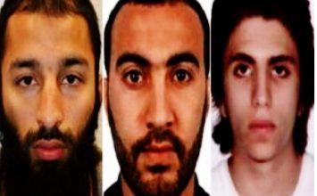 Λονδίνο: Αυτοί είναι οι τρεις δράστες