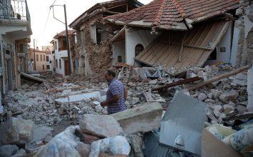 Ολική η καταστροφή στη Βρίσα Λέσβου – Στο 75% οι καταστροφές των σπιτιών